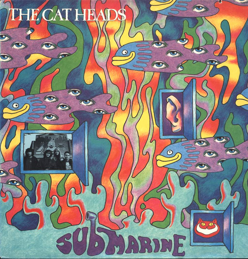 The Cat Heads: Submarine, LP (Vinyl)
