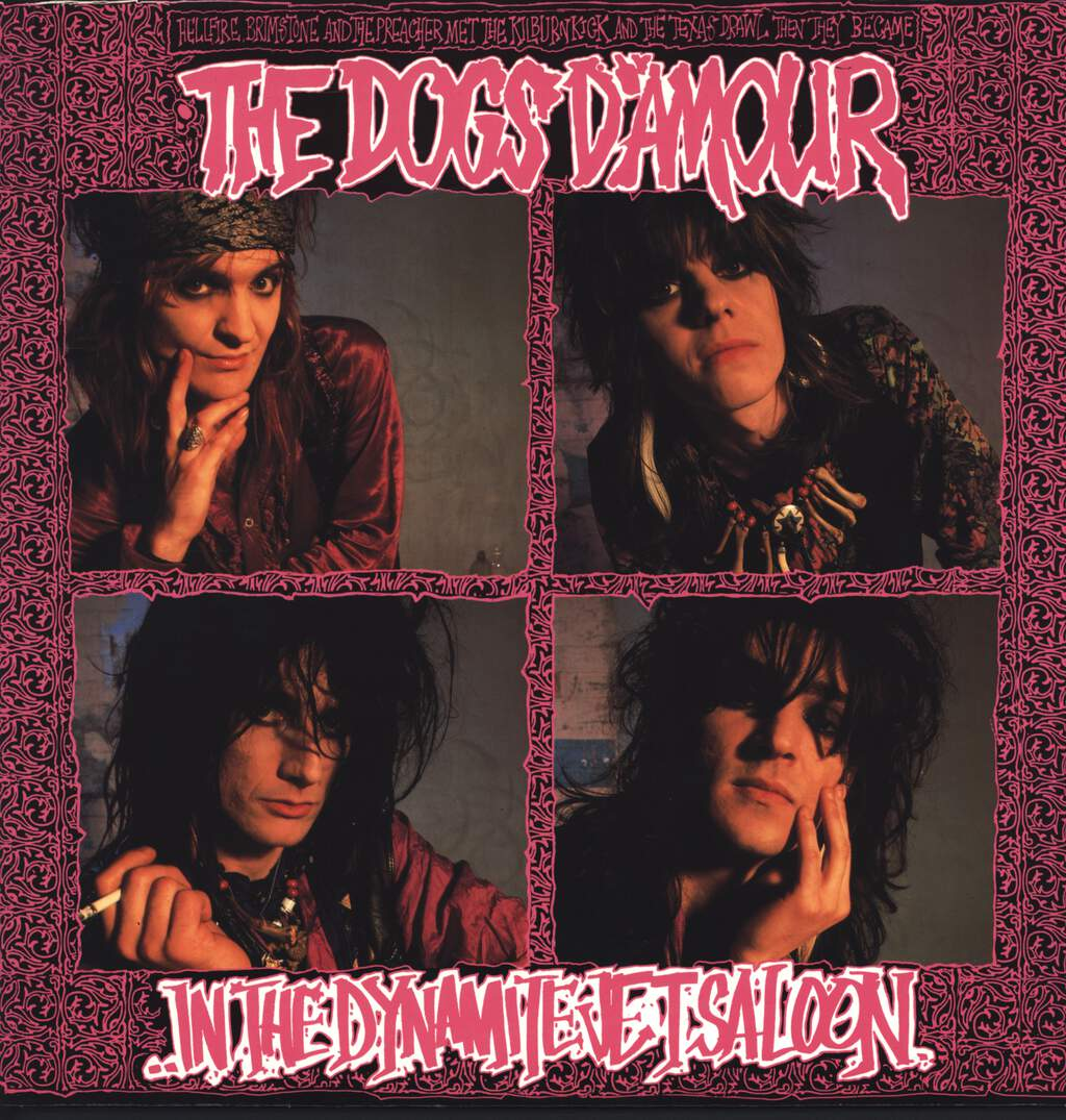 The Dogs D'Amour: In The Dynamite Jet Saloon, LP (Vinyl)