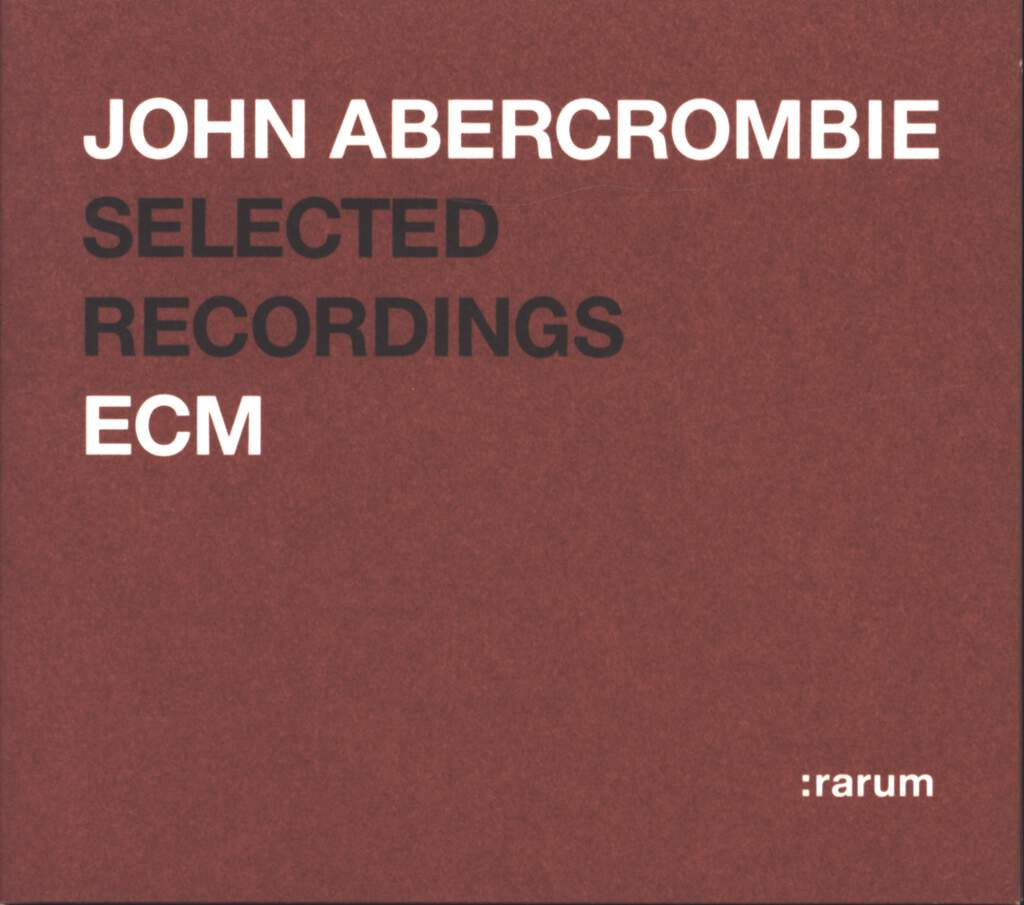 John Abercrombie: Selected Recordings, CD