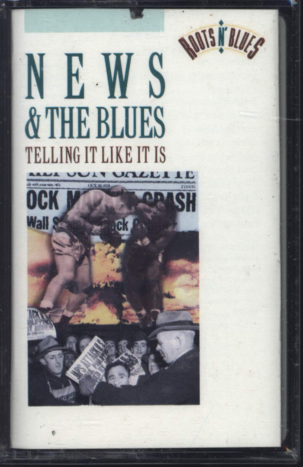 Various: News & The Blues: Telling It Like It Is, Compact Cassette
