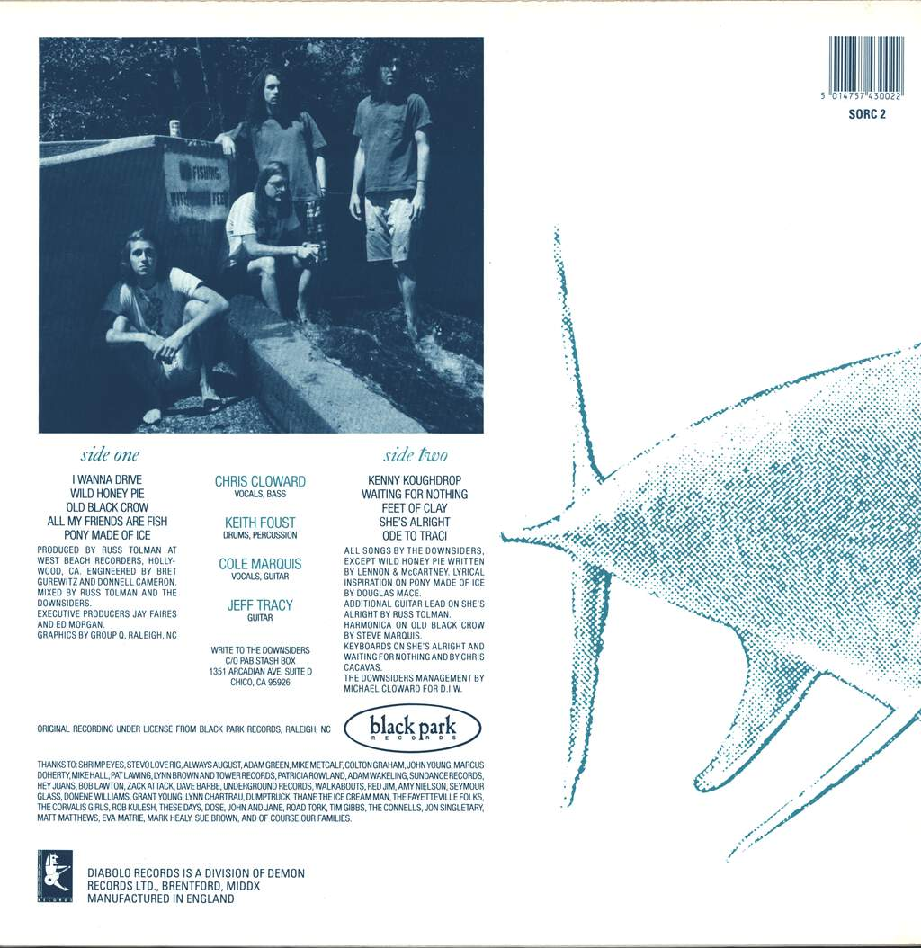 The Downsiders: All My Friends Are Fish, LP (Vinyl)