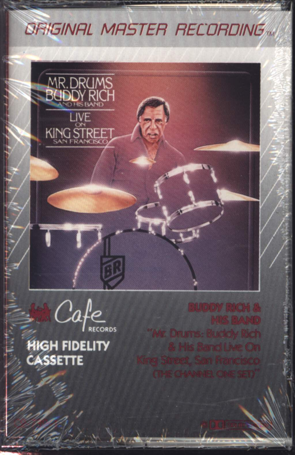 Buddy Rich: Mr Drums: Buddy Rich & His Band Live On King Street, Compact Cassette
