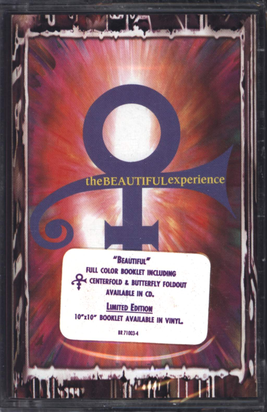 The Artist (Formerly Known As Prince): The Beautiful Experience, Compact Cassette