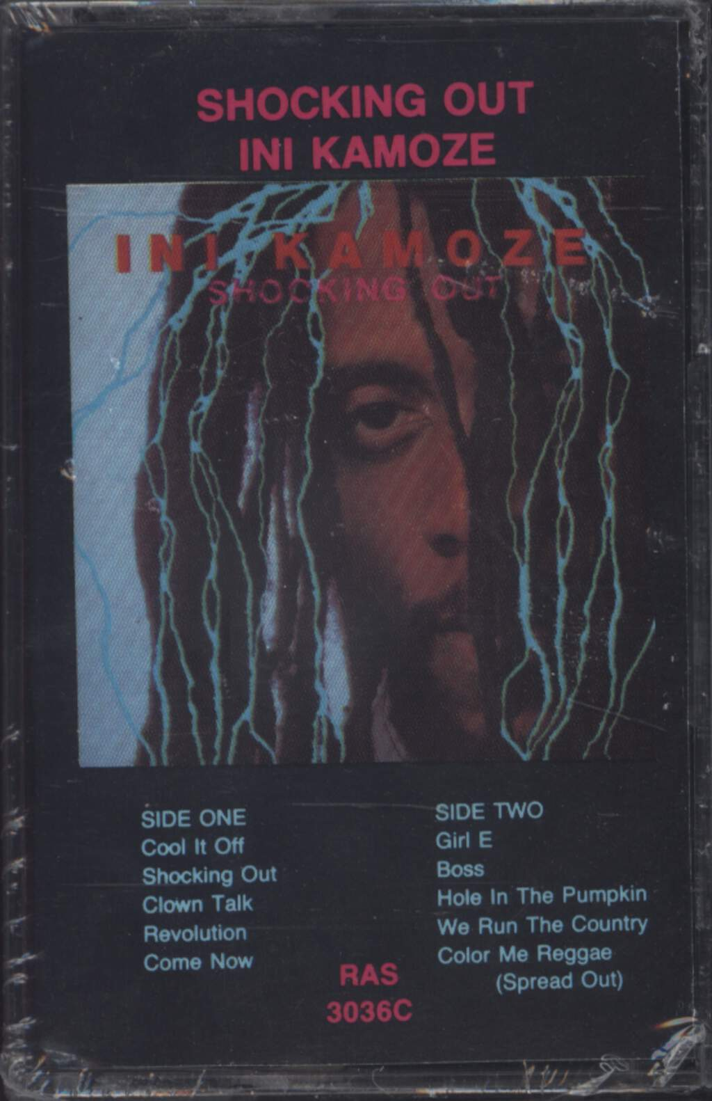 Ini Kamoze: Shocking Out, Compact Cassette