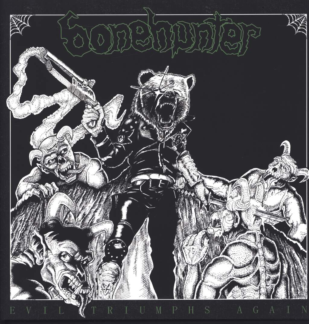 Bonehunter: Evil Triumphs Again, LP (Vinyl)