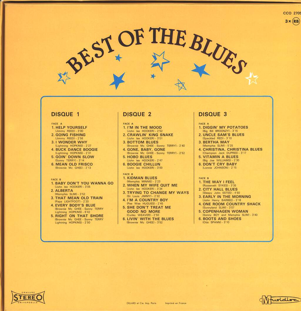 Various: Best Of The Blues, LP (Vinyl)
