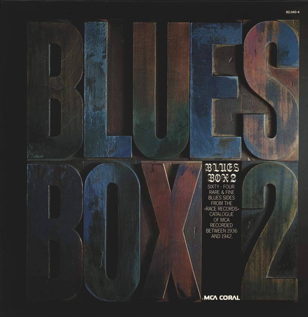 Various: Blues Box 2, LP (Vinyl)