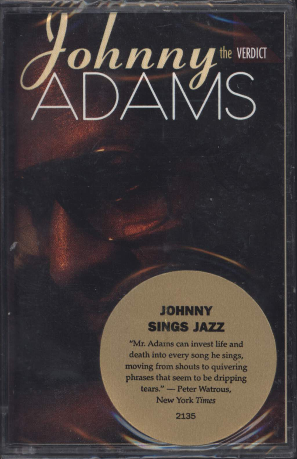 Johnny Adams: The Verdict, Compact Cassette