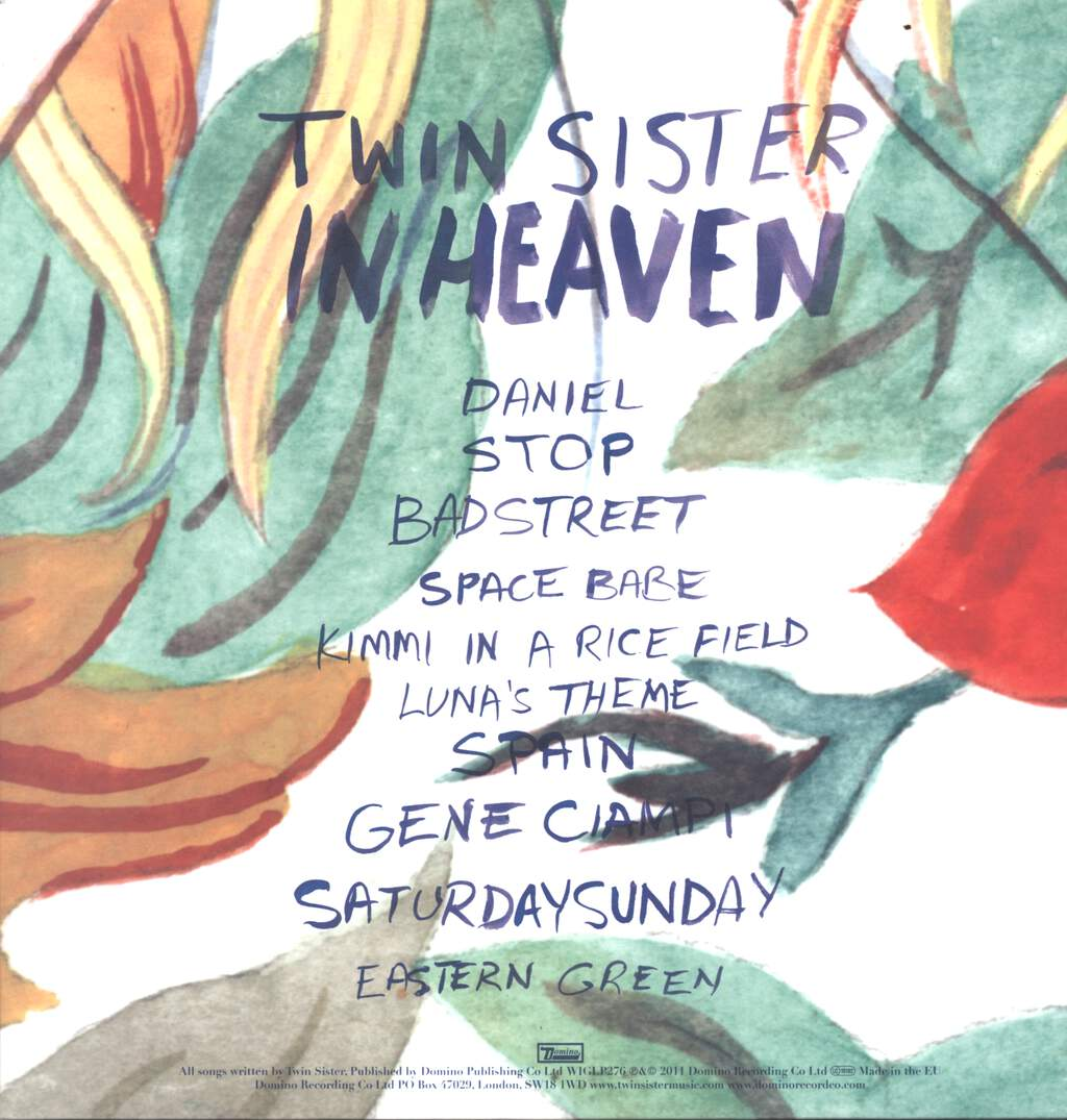 Twin Sister: In Heaven, LP (Vinyl)