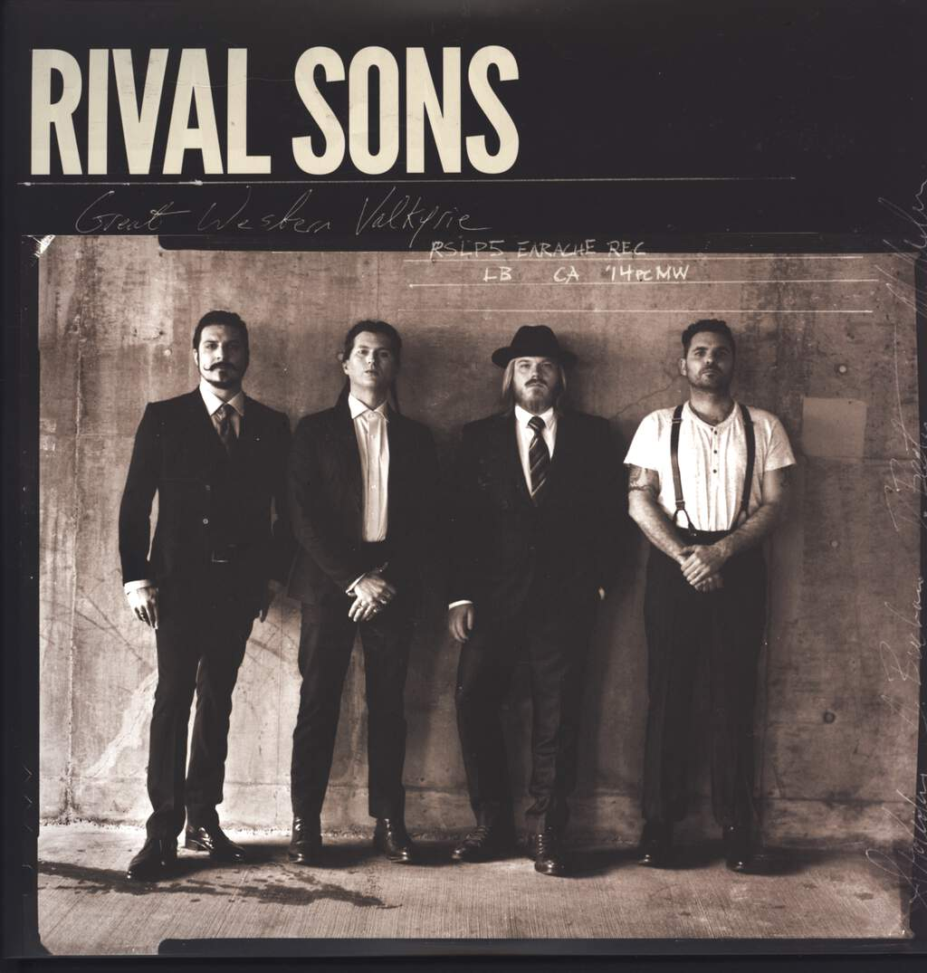 Rival Sons: Great Western Valkyrie, LP (Vinyl)