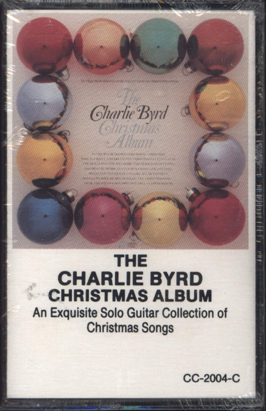 Charlie Byrd: The Charlie Byrd Christmas Album, Compact Cassette