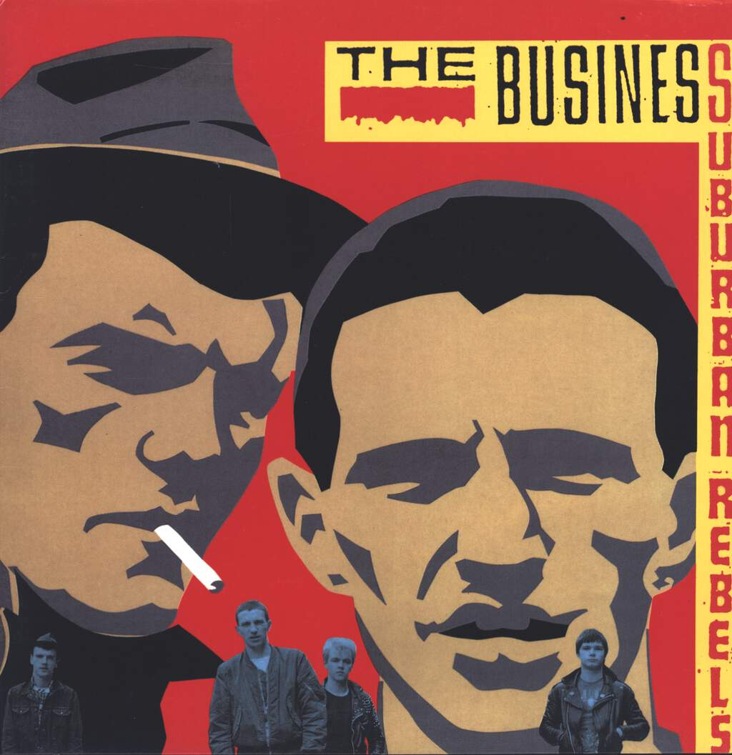 The Business: Suburban Rebels, LP (Vinyl)
