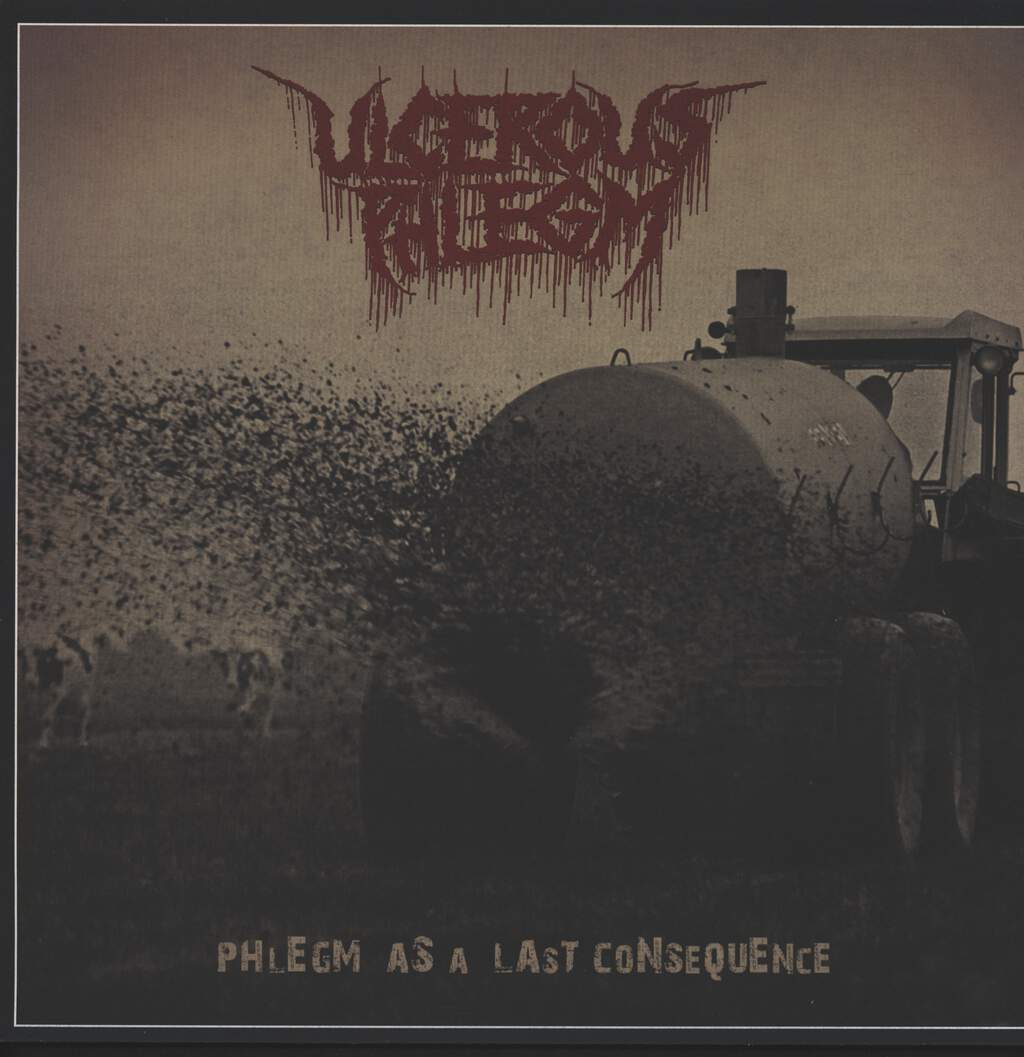 Ulcerous Phlegm: Phlegm As A Last Consequence, LP (Vinyl)