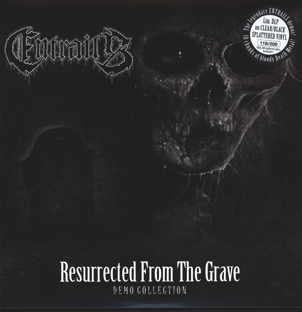 Entrails: Resurrected From The Grave (Demo Collection), LP (Vinyl)