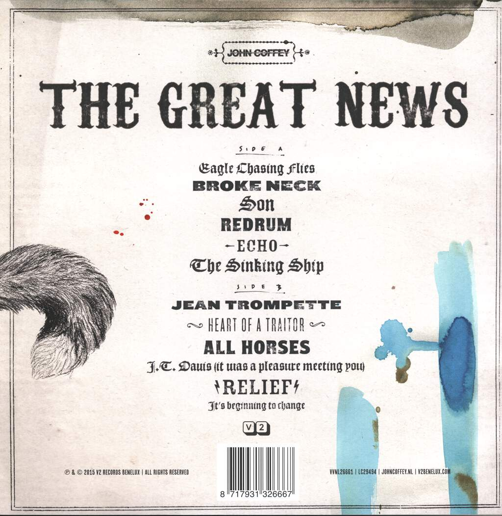 John Coffey: The Great News, LP (Vinyl)