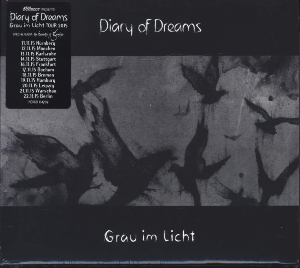 Diary Of Dreams: Grau Im Licht, CD