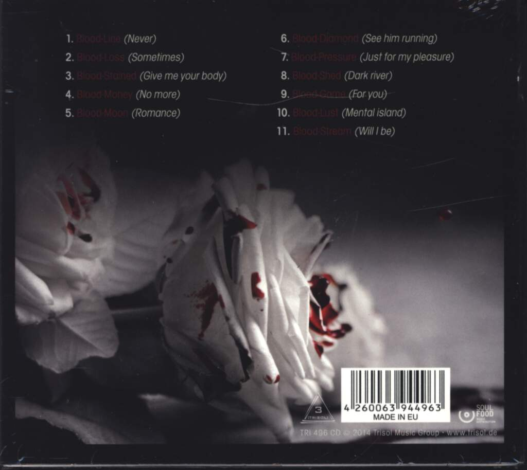 Project Pitchfork: Blood, CD