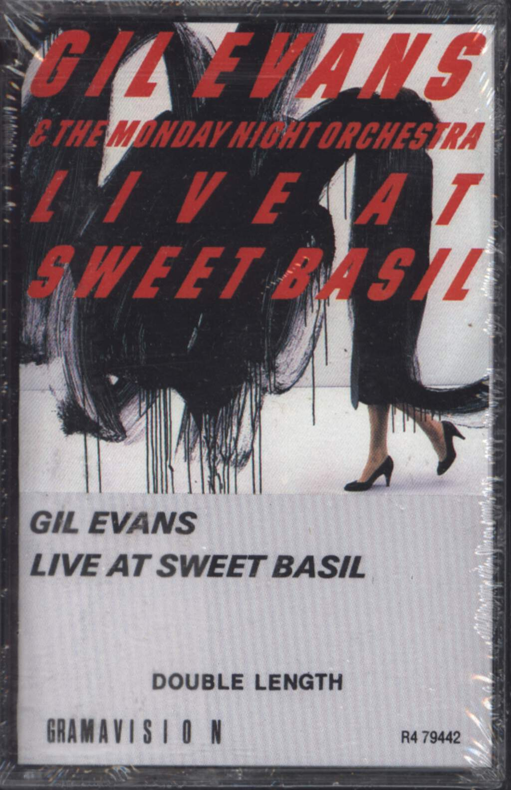 Gil Evans: Live At Sweet Basil, Compact Cassette