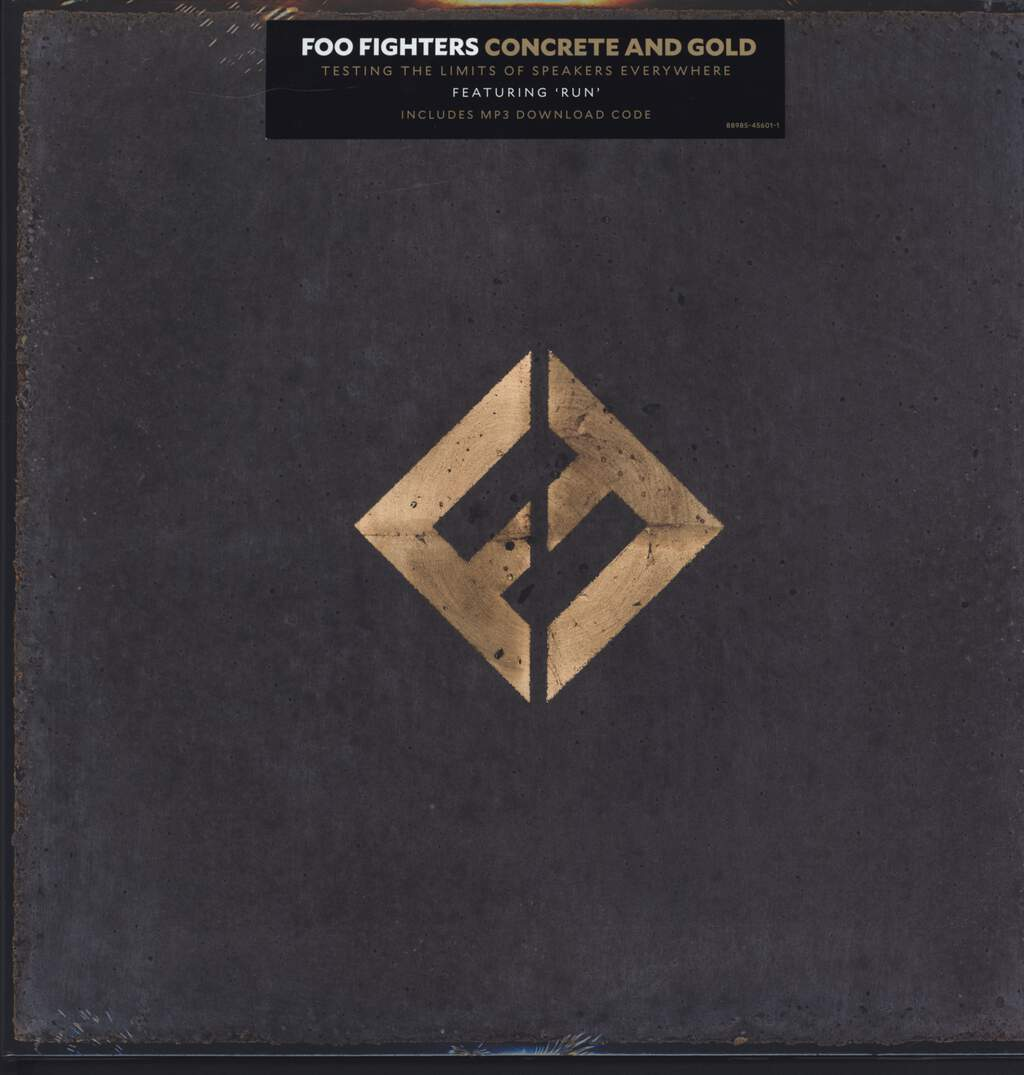Foo Fighters: Concrete And Gold, 2×LP (Vinyl)