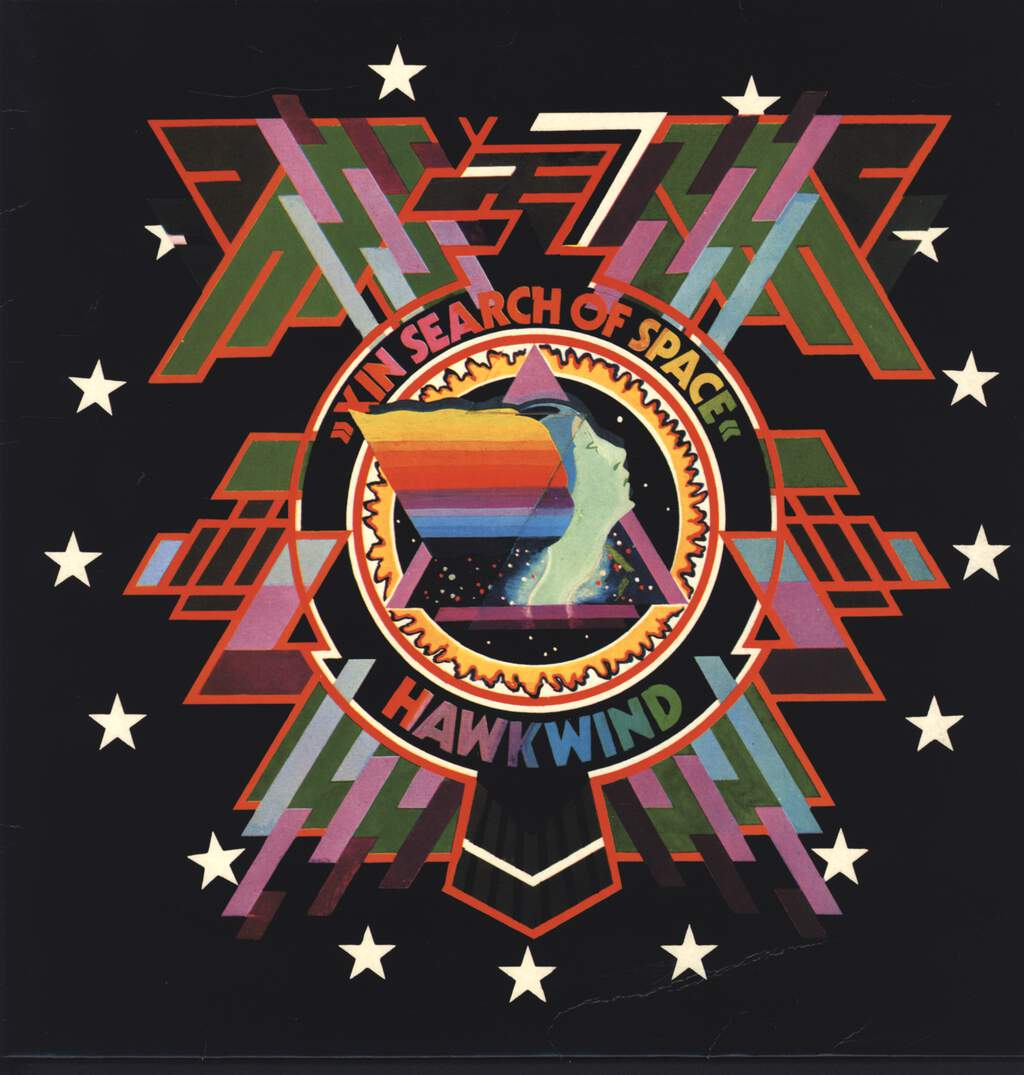 Hawkwind: X In Search Of Space, LP (Vinyl)