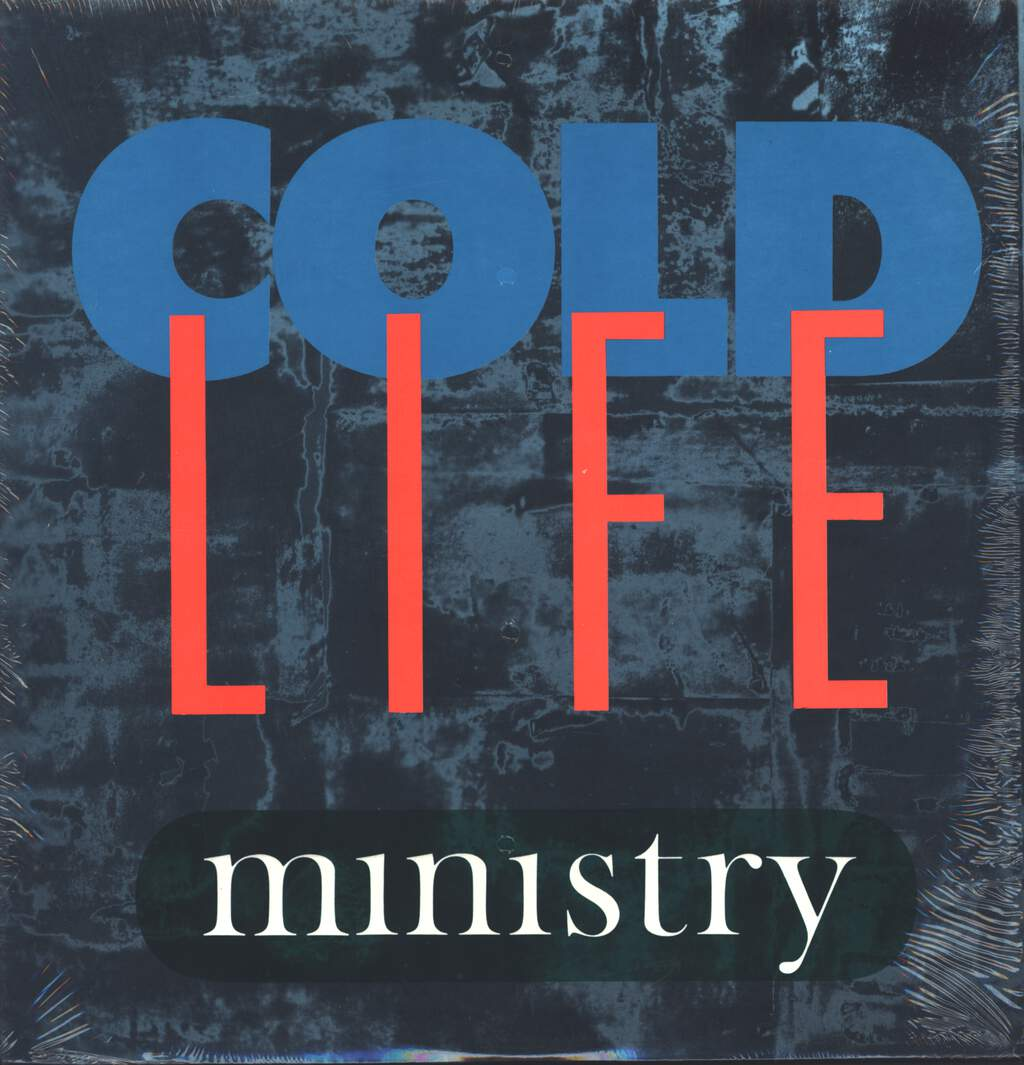 "Ministry: Cold Life, 12"" Maxi Single (Vinyl)"