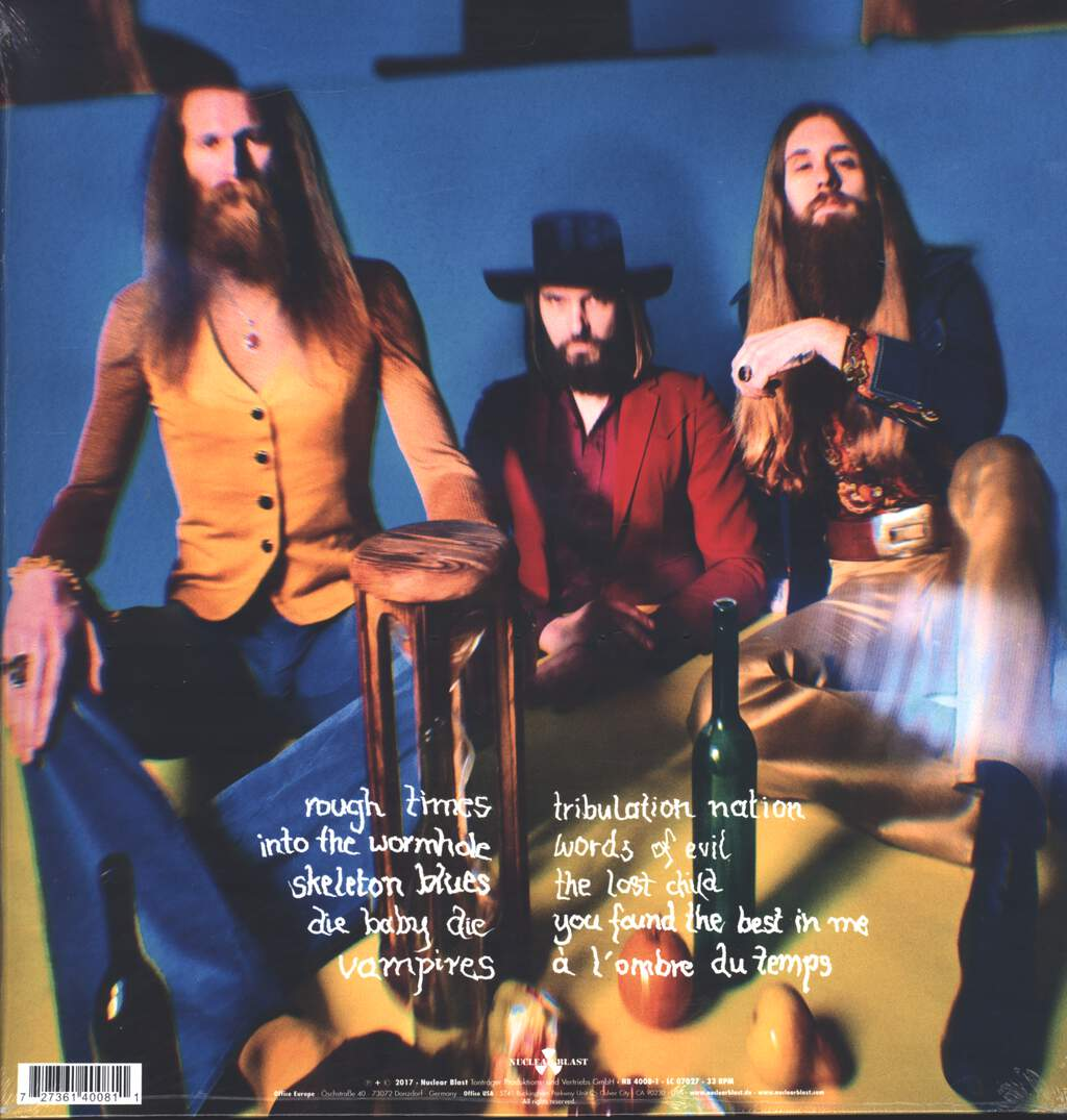 Kadavar: Rough Times, LP (Vinyl)