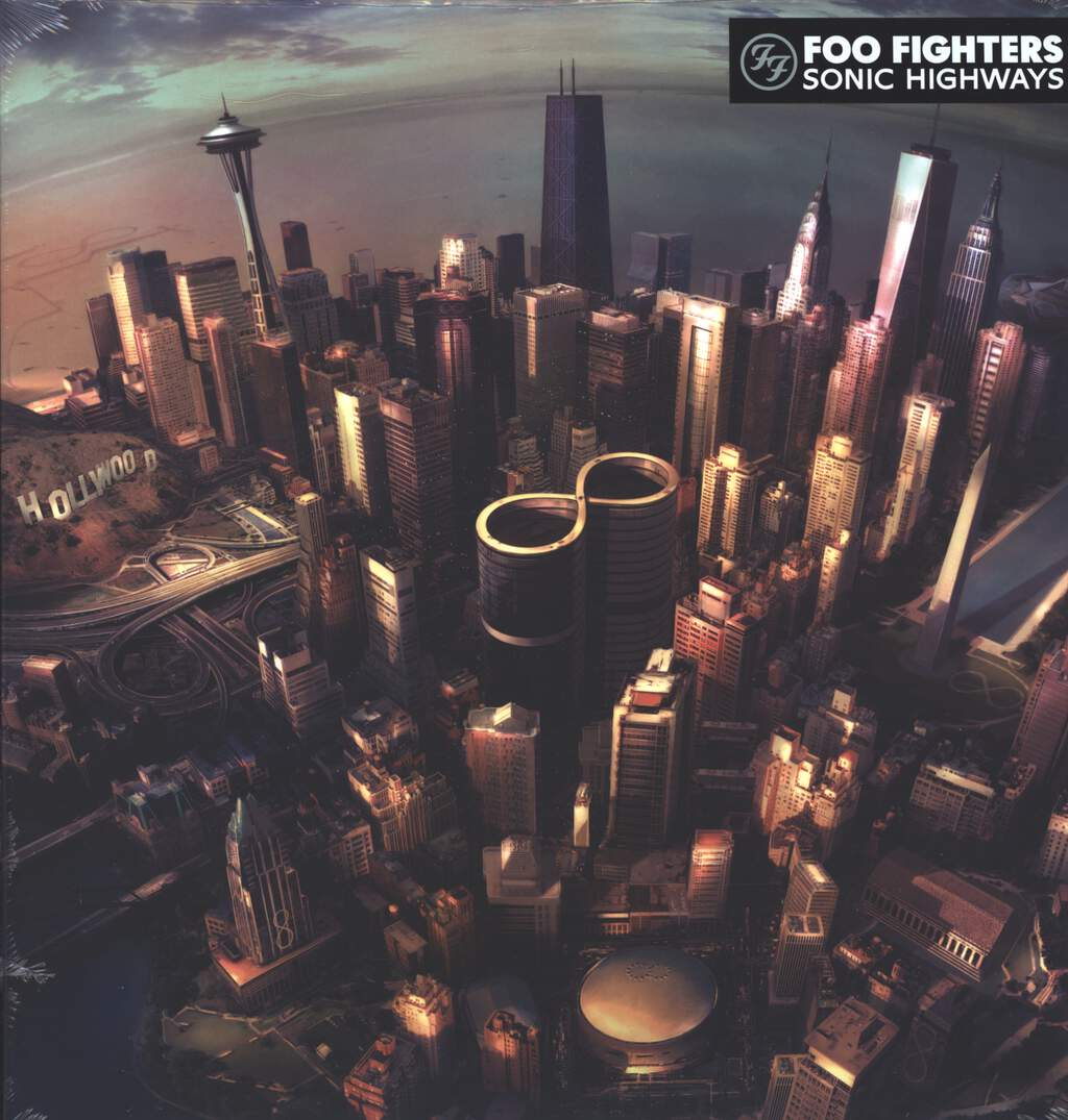 Foo Fighters: Sonic Highways, LP (Vinyl)