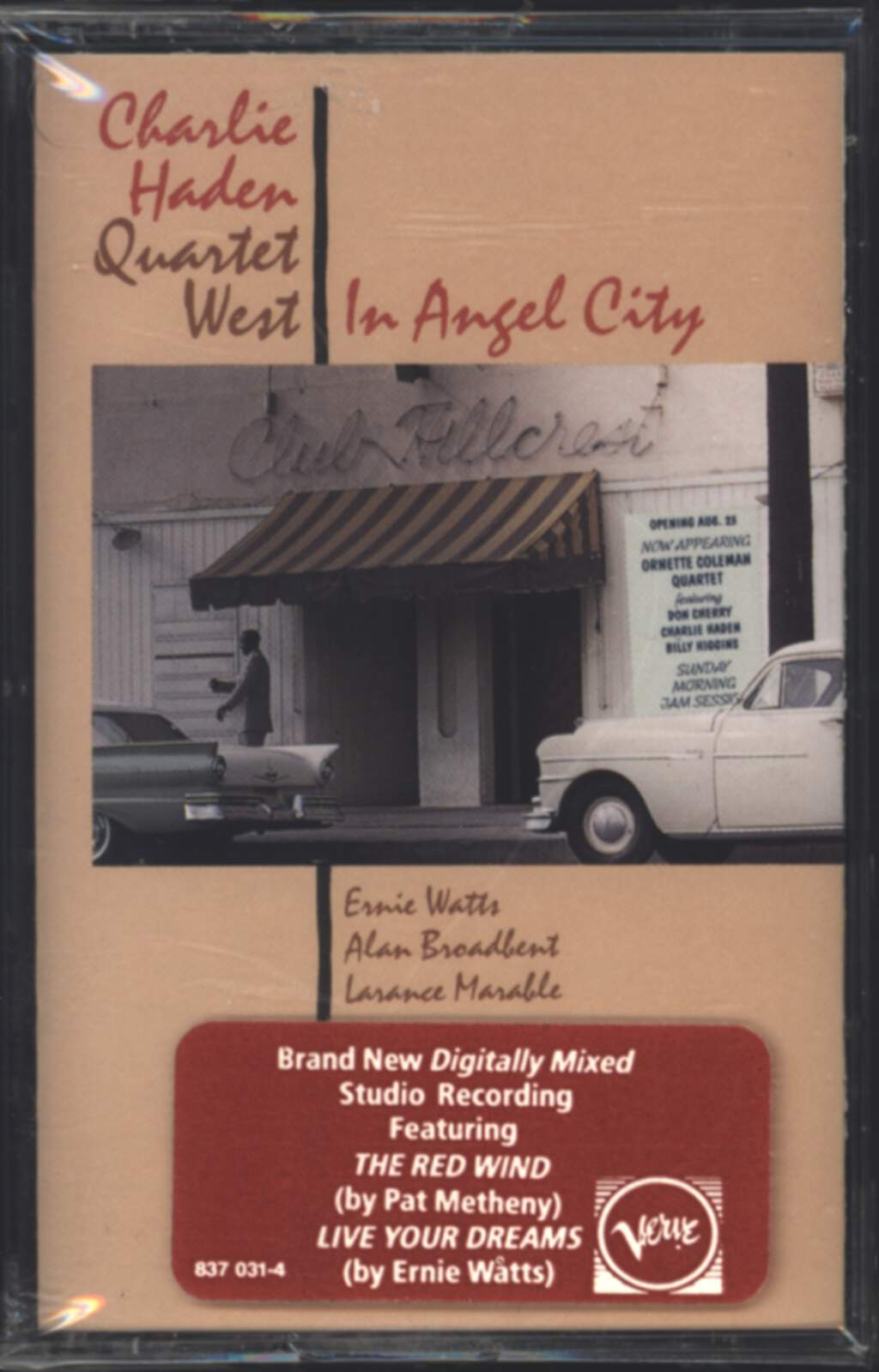 Charlie Haden Quartet West: In Angel City, Compact Cassette