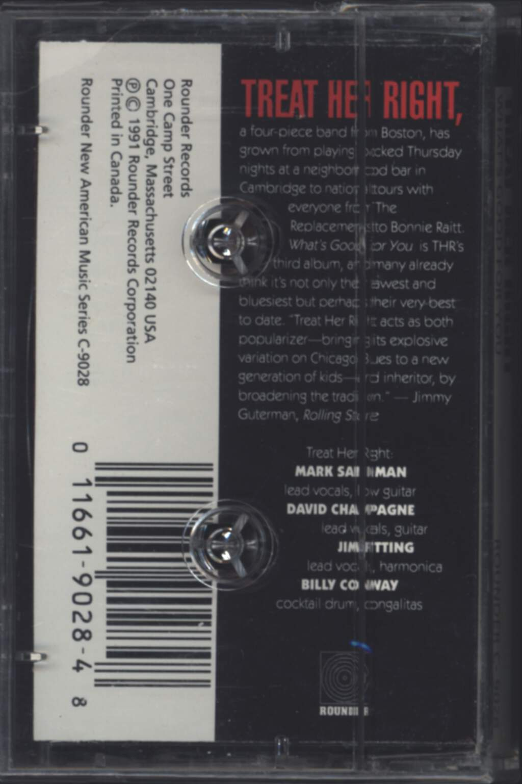 American Music Club: San Francisco, Compact Cassette