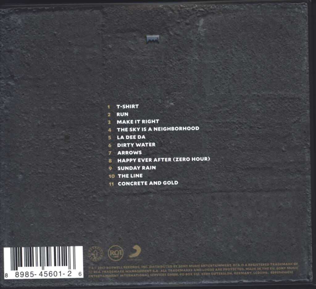 Foo Fighters: Concrete And Gold, CD