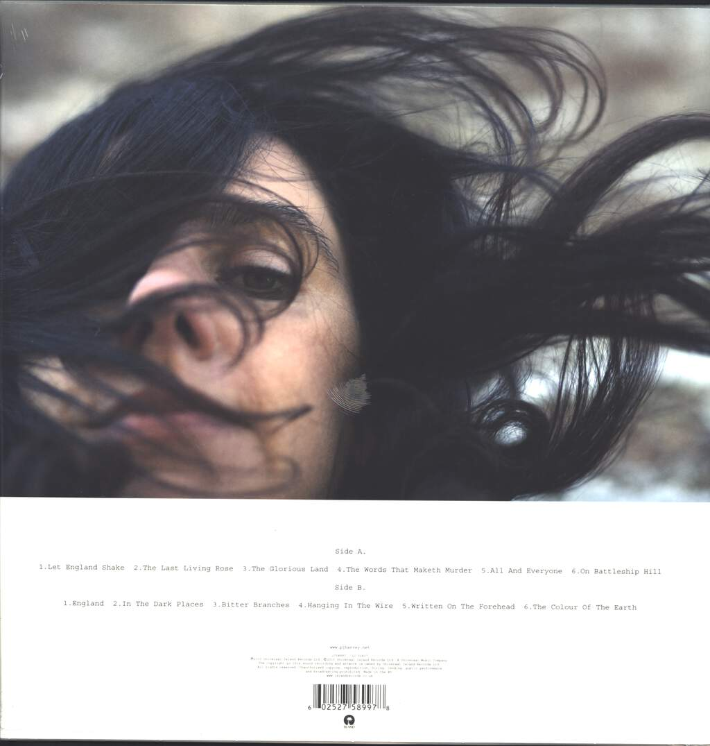 PJ Harvey: Let England Shake, LP (Vinyl)