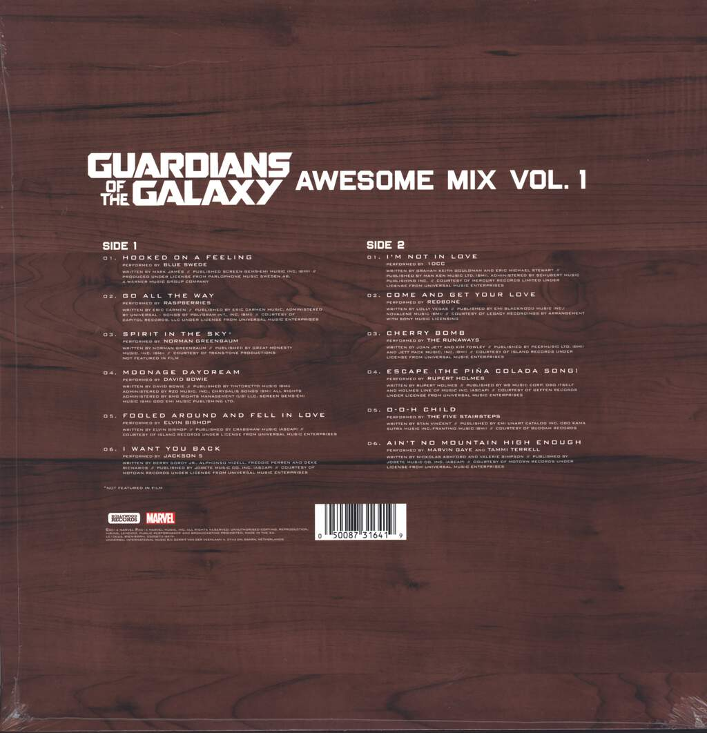 Various: Guardians Of The Galaxy Awesome Mix Vol. 1, LP (Vinyl)