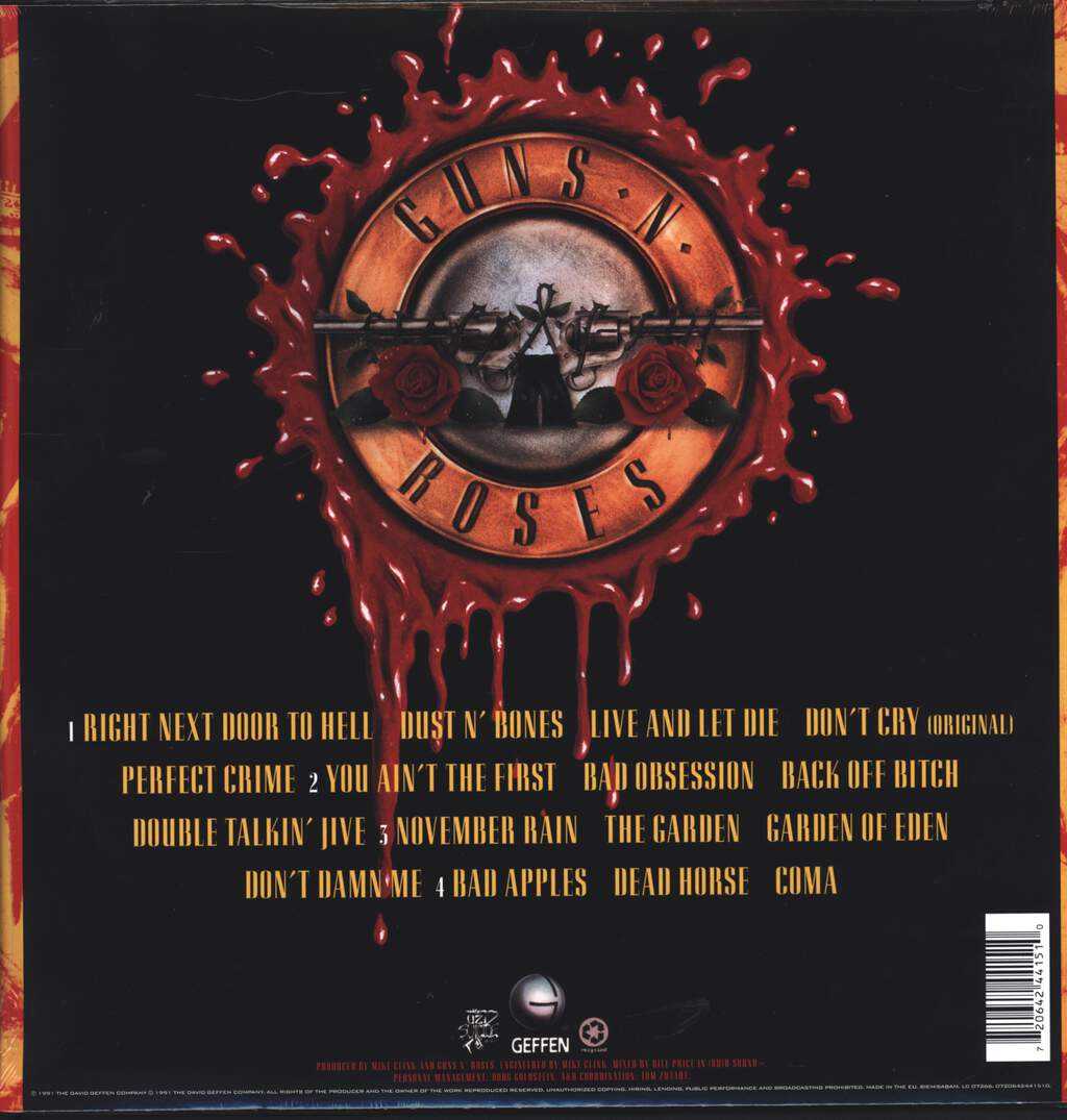 Guns N Roses: Use Your Illusion I, LP (Vinyl)