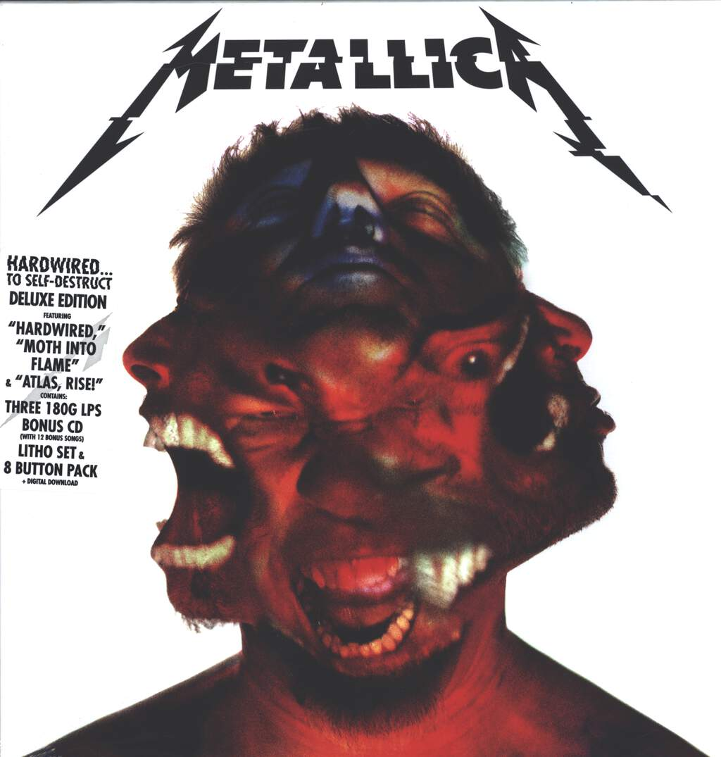 Metallica: Hardwired...To Self-Destruct, LP (Vinyl)