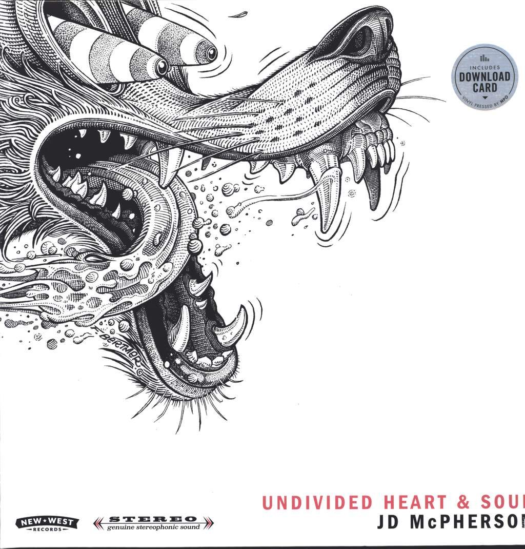 JD McPherson: Undivided Heart & Soul, LP (Vinyl)