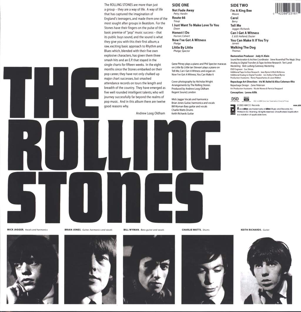 The Rolling Stones: The Rolling Stones (England's Newest Hit Makers), LP (Vinyl)