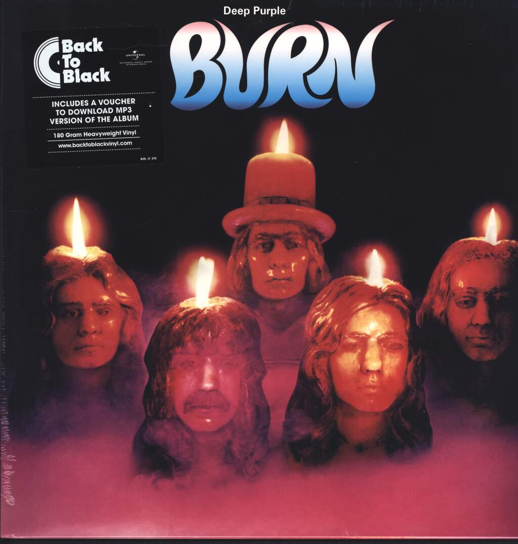 Deep Purple: Burn, LP (Vinyl)