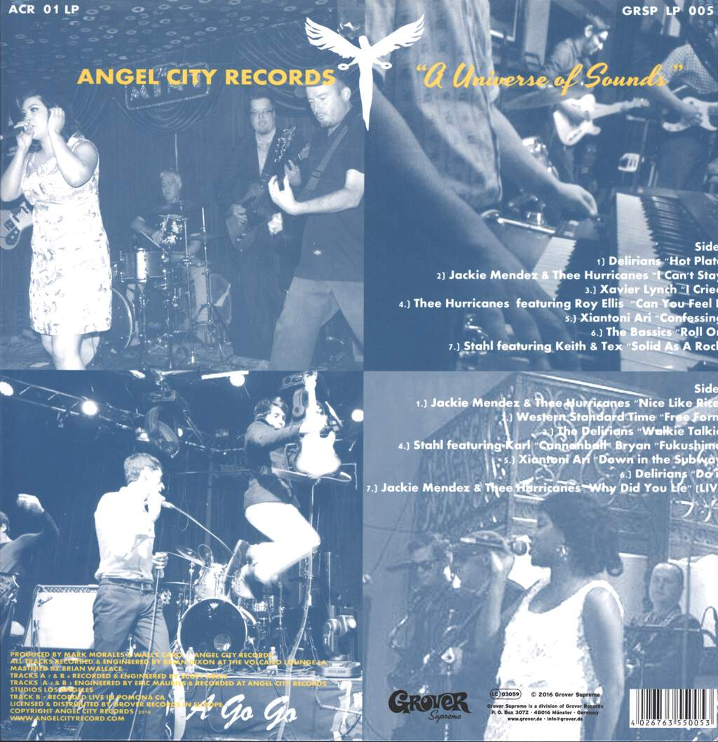 Various: A Universe Of Sounds - Angel City Records, LP (Vinyl)