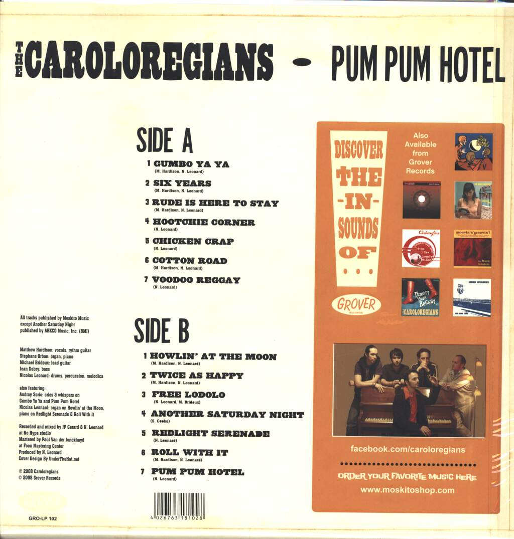 The Caroloregians: Pum Pum Hotel, LP (Vinyl)