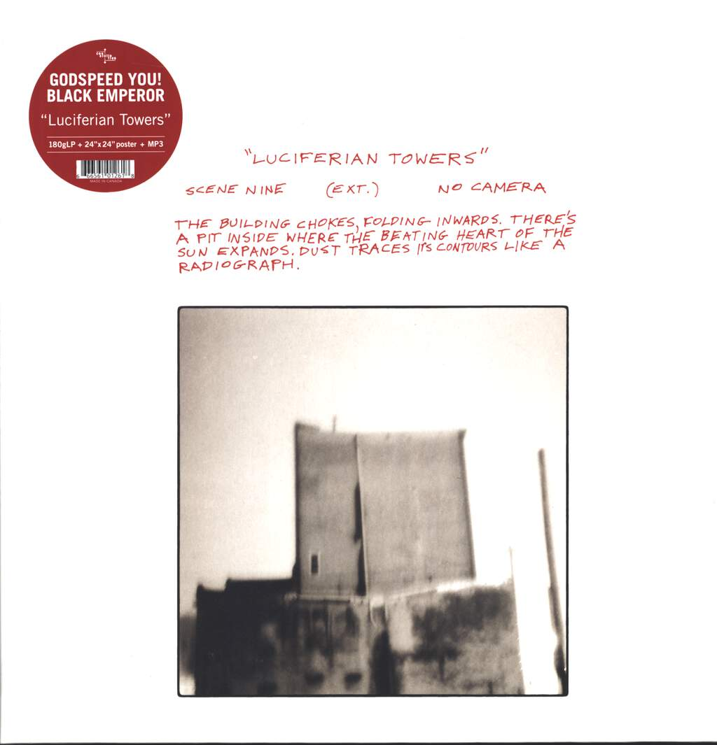 Godspeed You Black Emperor: Luciferian Towers, LP (Vinyl)