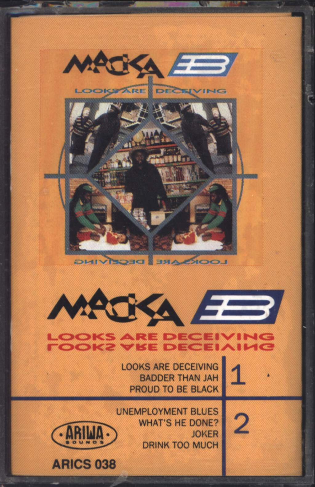Macka B: Looks Are Deceiving, Compact Cassette