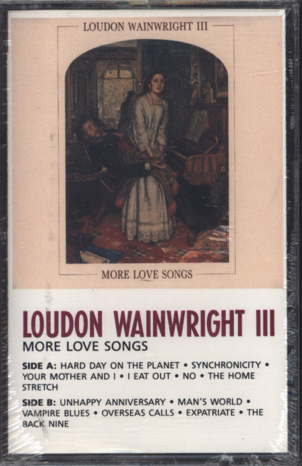 Loudon Wainwright III: More Love Songs, Compact Cassette