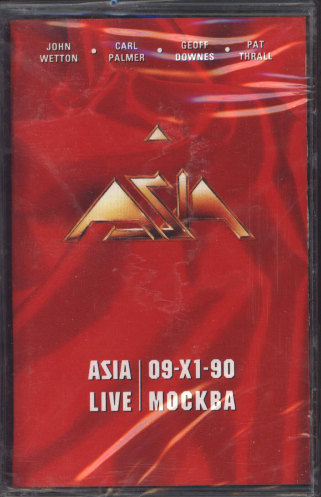 Asia: Live In Moscow, Compact Cassette