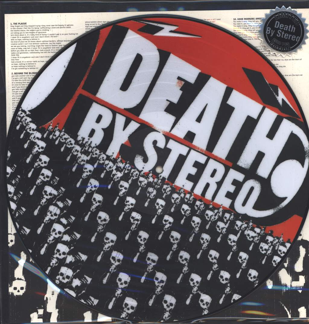 Death By Stereo: Into The Valley Of Death, LP (Vinyl)