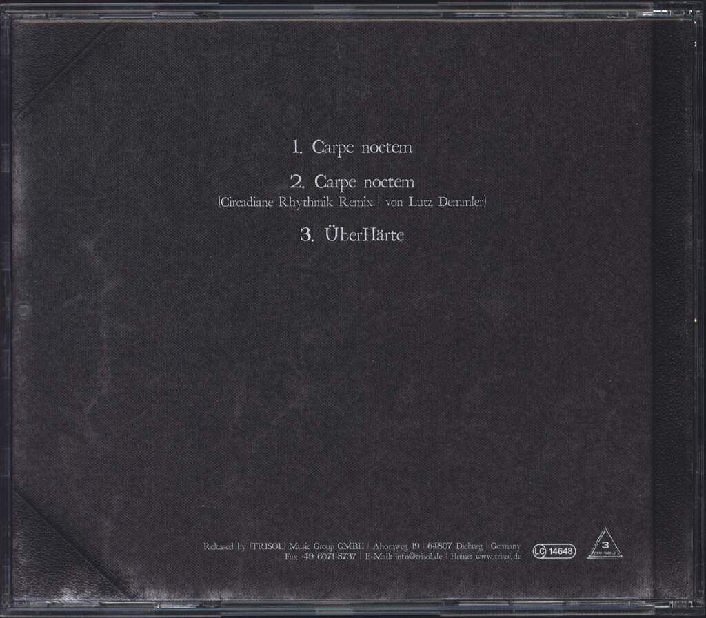 ASP: Die DJ-Archive 6: Carpe Noctem, Mini CD