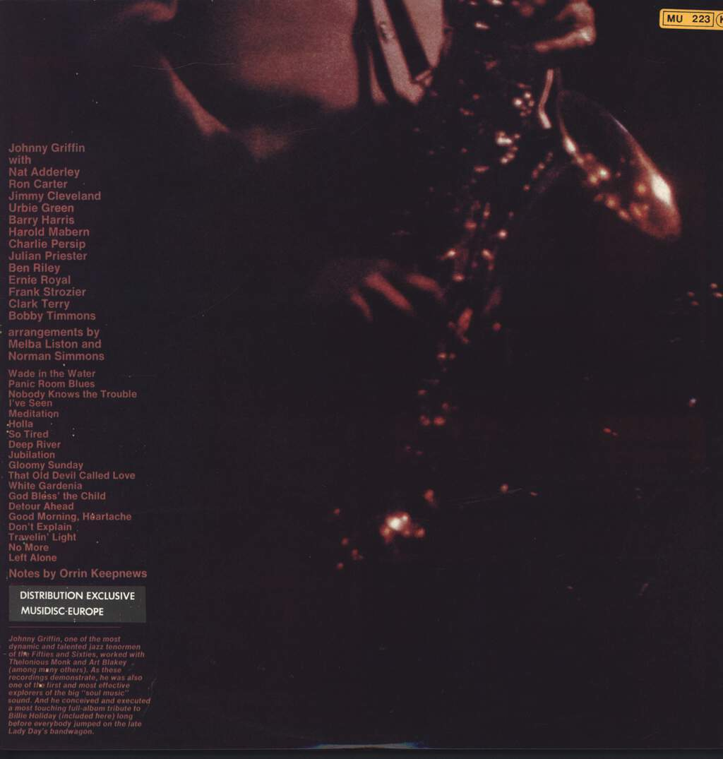 Johnny Griffin: Big Soul, LP (Vinyl)
