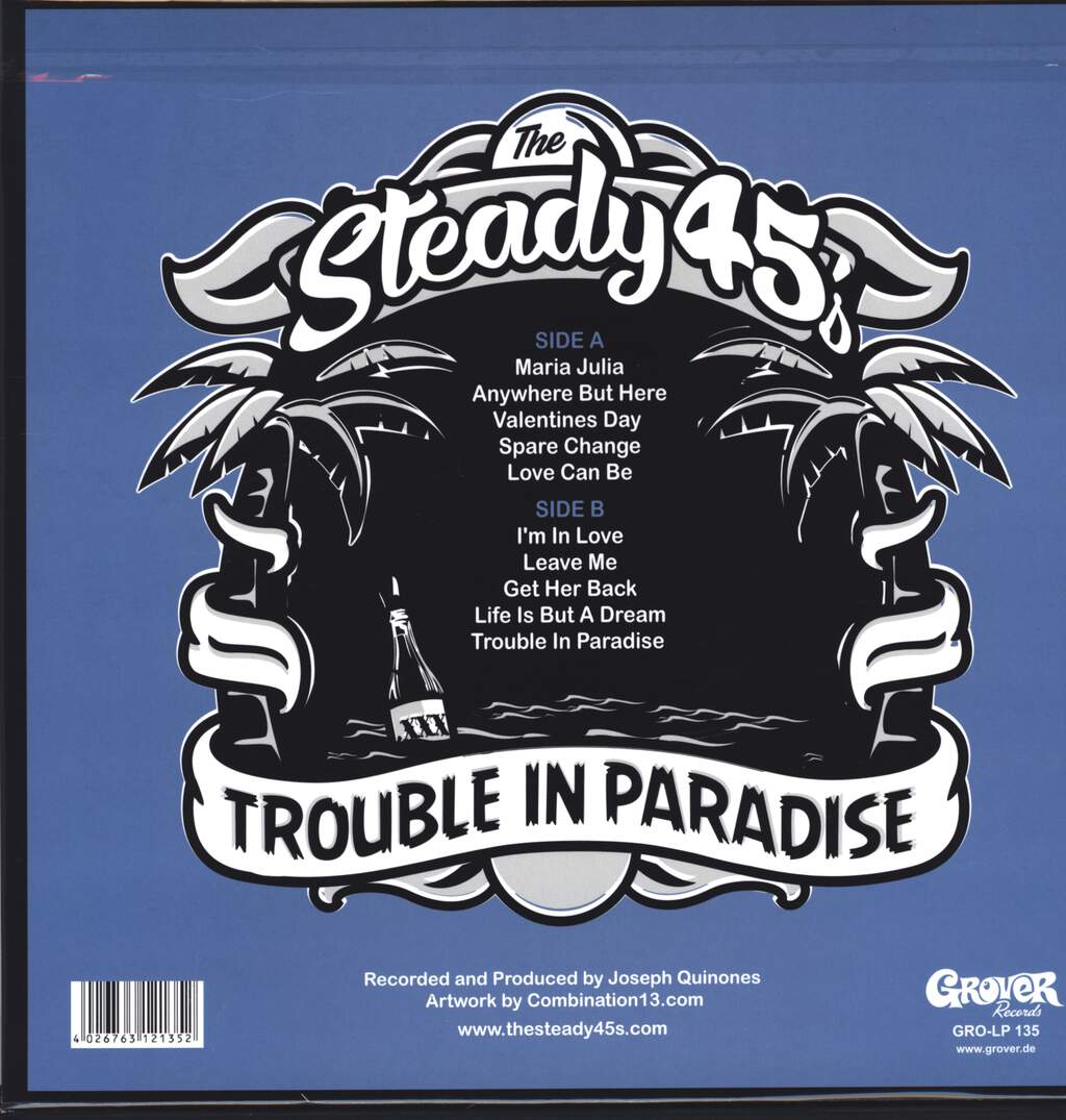 The Steady 45's: Trouble In Paradise, LP (Vinyl)