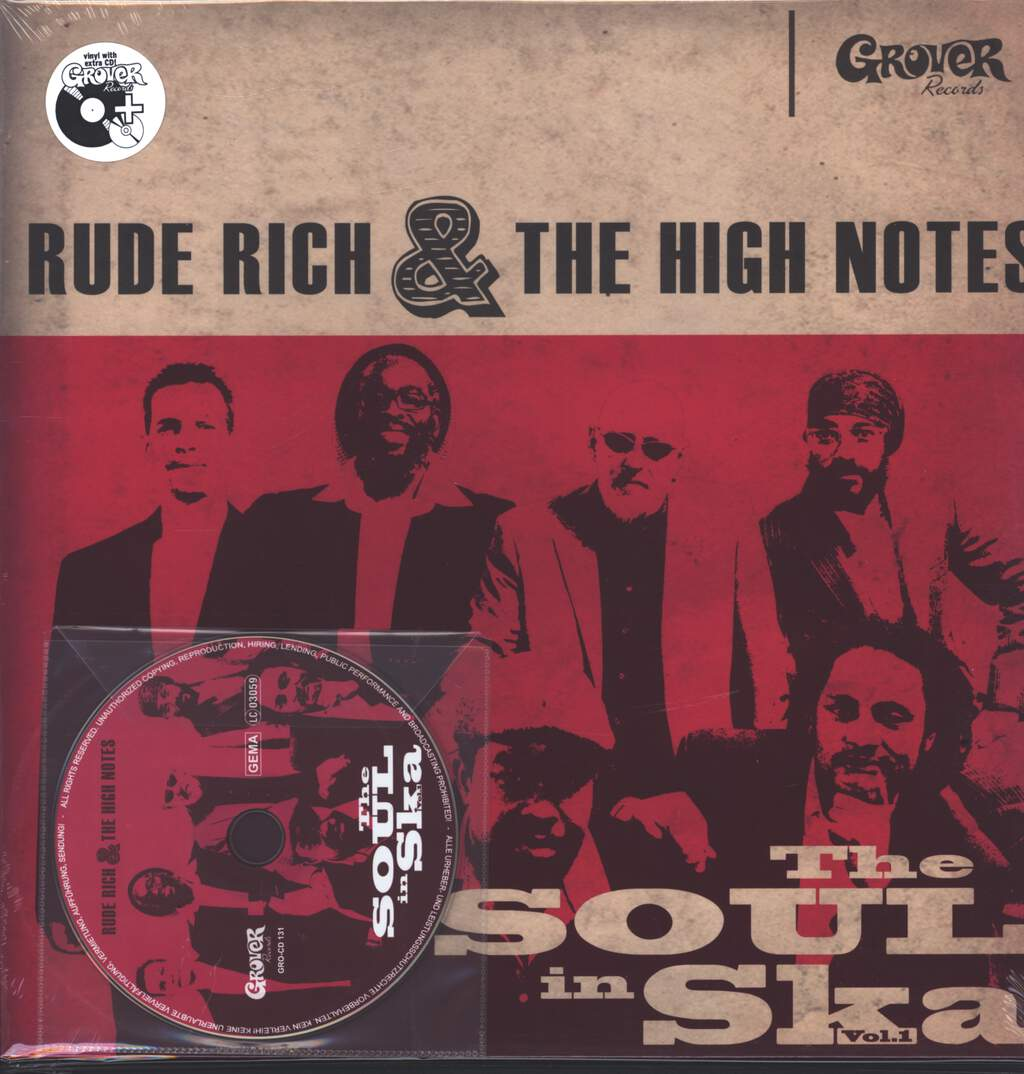 Rude Rich And The High Notes: The Soul In Ska Vol. 1, LP (Vinyl)