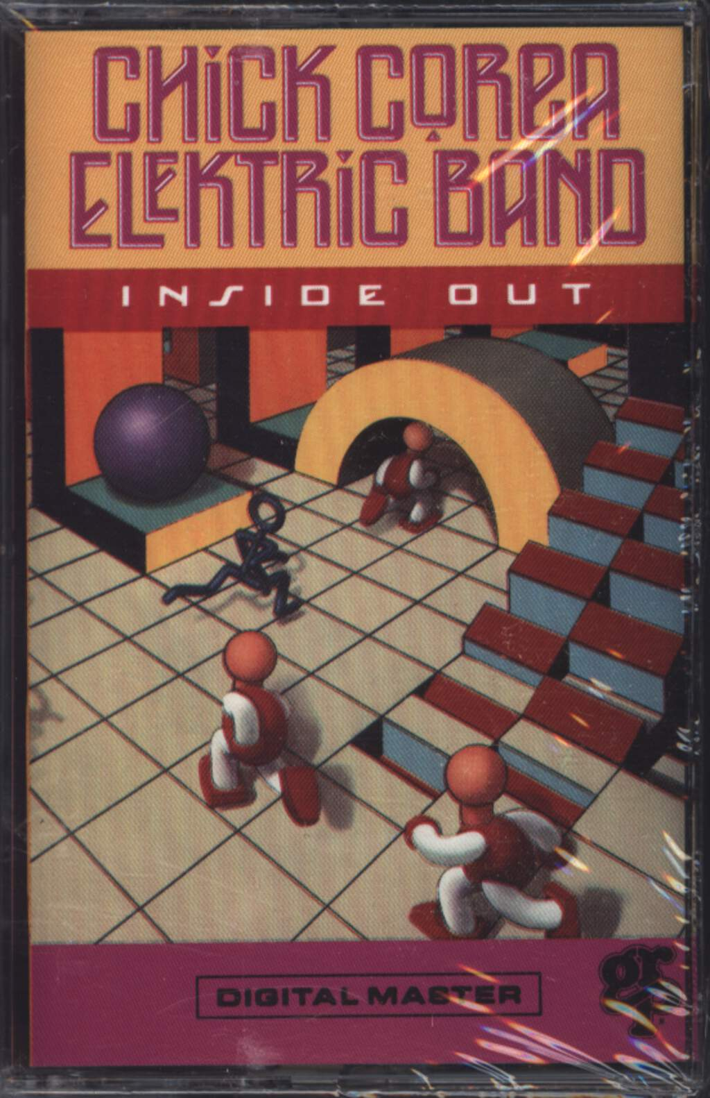 The Chick Corea Elektric Band: Inside Out, Compact Cassette
