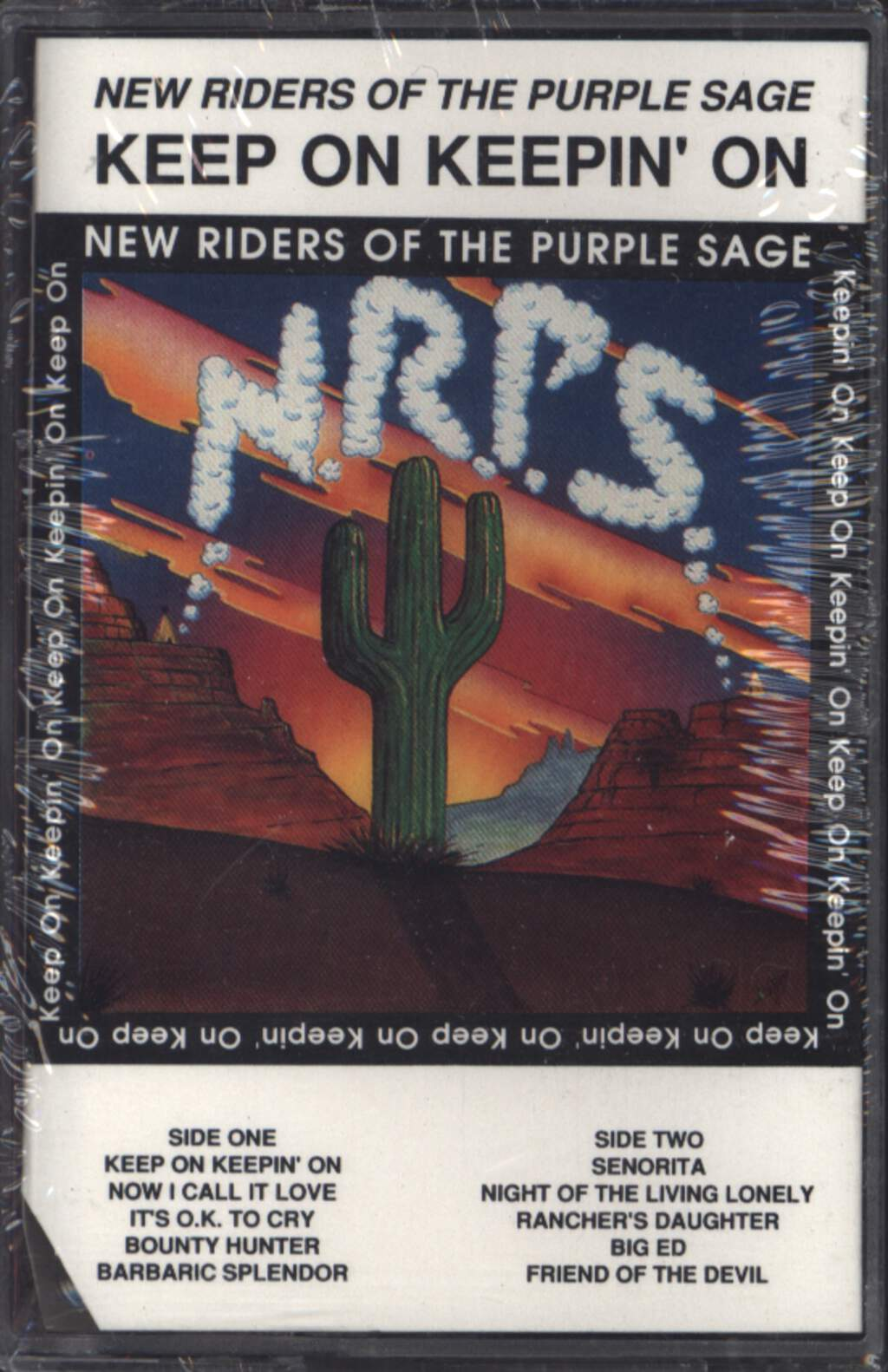 New Riders Of the Purple Sage: Keep On Keepin' On, Compact Cassette